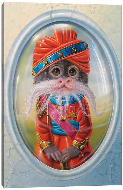 The Maharaja Of Rajasthan Canvas Art Print
