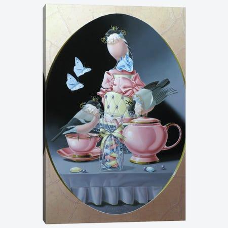Wedding Tea Canvas Print #VQU79} by Valéry Vecu Quitard Canvas Art Print