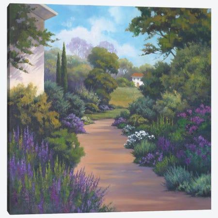 Garden Path I Canvas Print #VRH3} by Vivien Rhyan Canvas Art