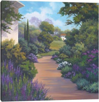 Garden Path I Canvas Art Print
