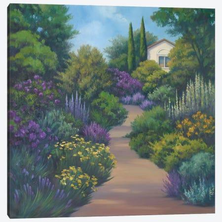 Garden Path II Canvas Print #VRH4} by Vivien Rhyan Art Print