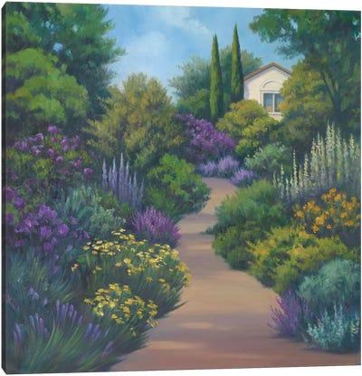 Garden Path II Canvas Art Print