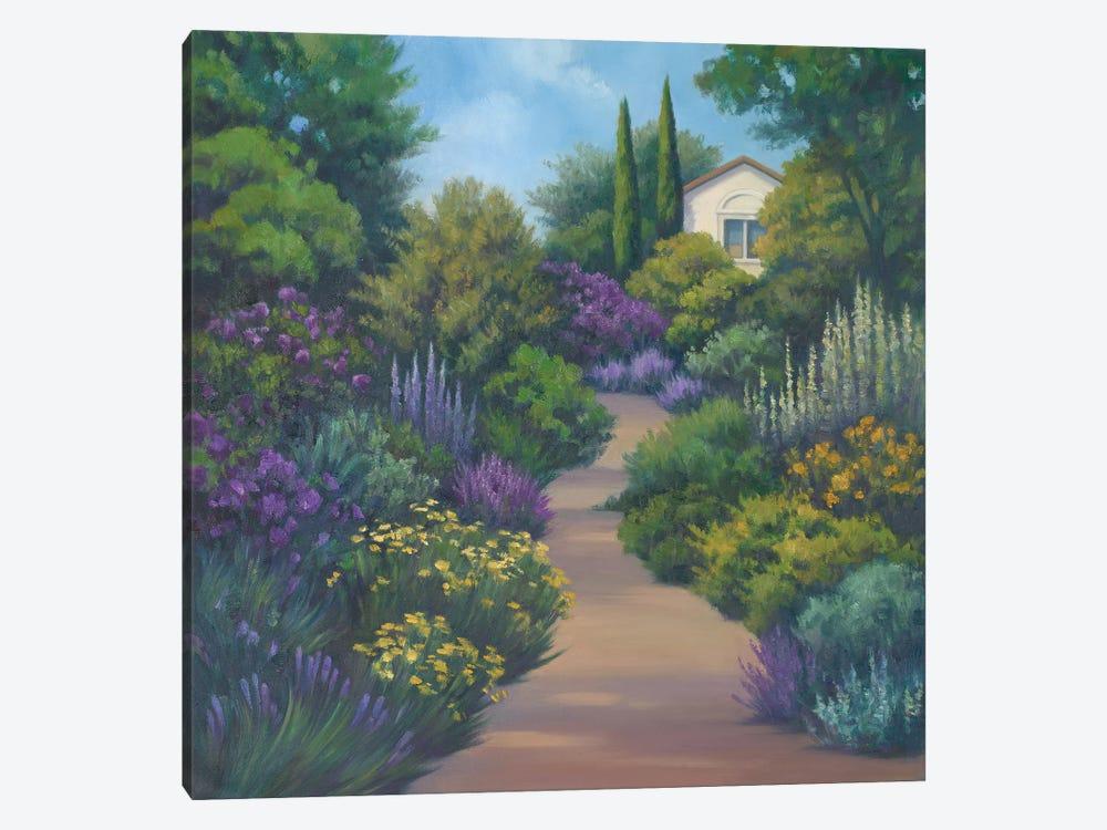 Garden Path II by Vivien Rhyan 1-piece Canvas Print
