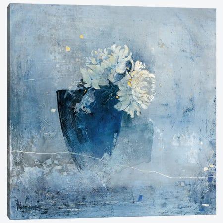 Blue Magnificence I Canvas Print #VRI3} by Heleen Vriesendorp Canvas Art Print