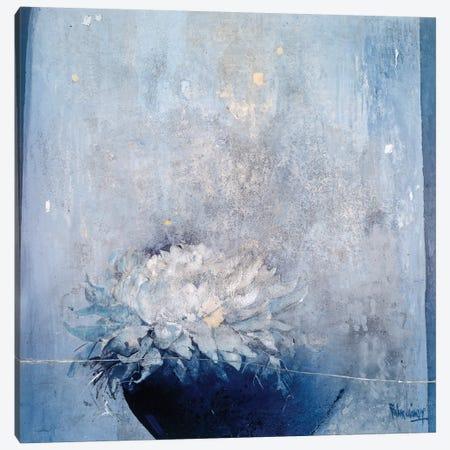 Blue Magnificence II Canvas Print #VRI4} by Heleen Vriesendorp Canvas Artwork