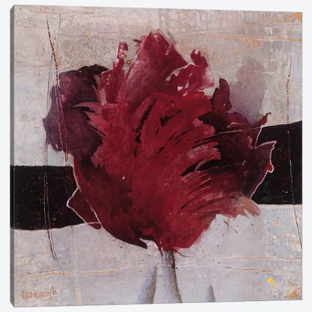Estella Tulip II Canvas Print #VRI6} by Heleen Vriesendorp Canvas Art