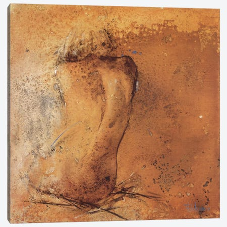 Nude II Canvas Print #VRI9} by Heleen Vriesendorp Art Print