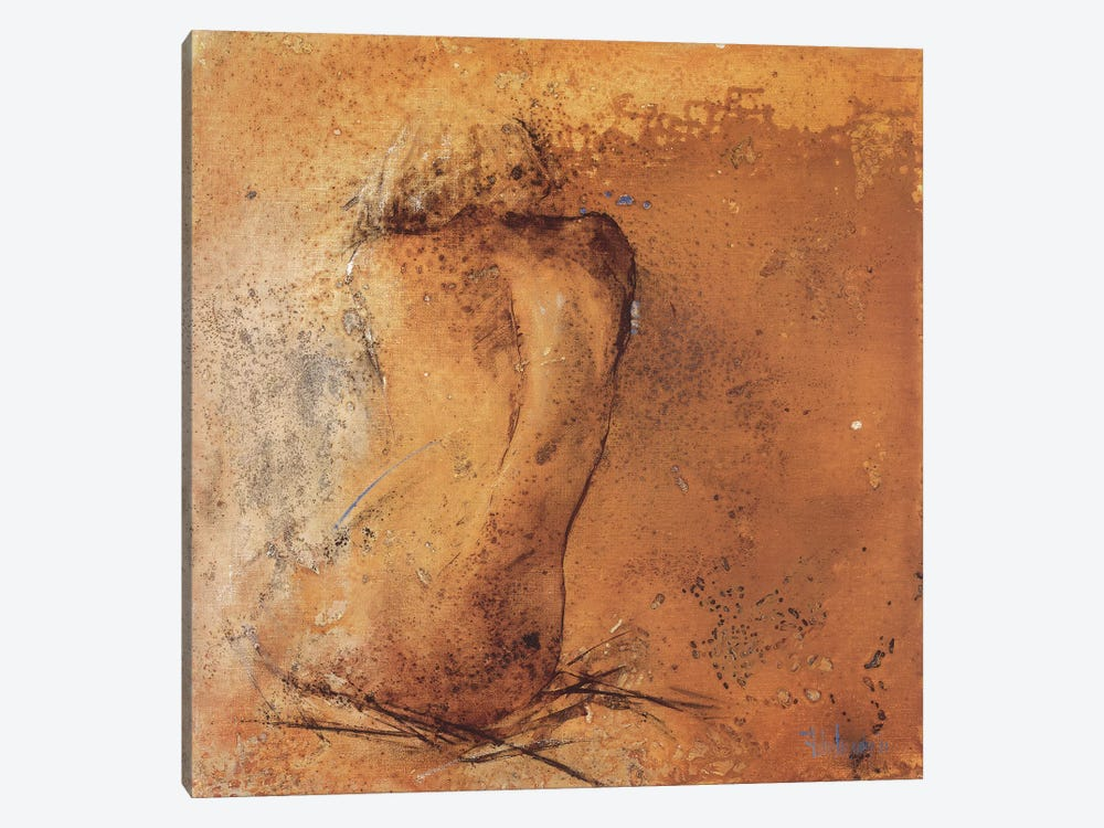 Nude II by Heleen Vriesendorp 1-piece Canvas Art Print