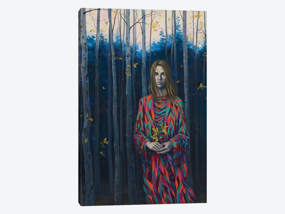 Blue Forest Wanderer by Vasilisa Romanenko 1-piece Canvas Art