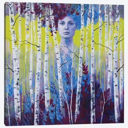 Chartreuse Dream Canvas Print #VRK16} by Vasilisa Romanenko Canvas Artwork