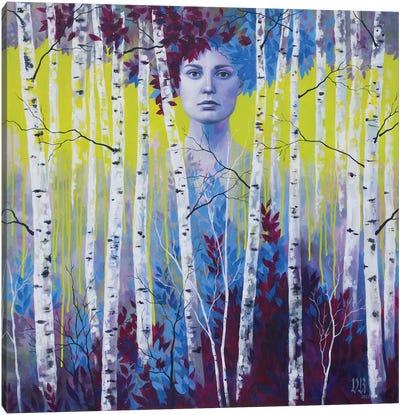 Chartreuse Dream Canvas Art Print