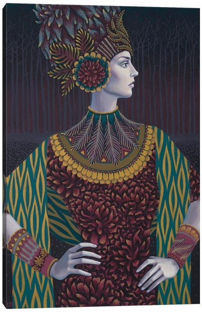 Devana Canvas Art Print