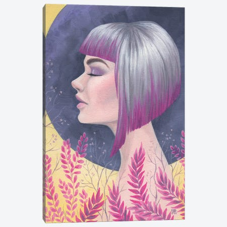 Fuchsia Daydream Canvas Print #VRK23} by Vasilisa Romanenko Canvas Art