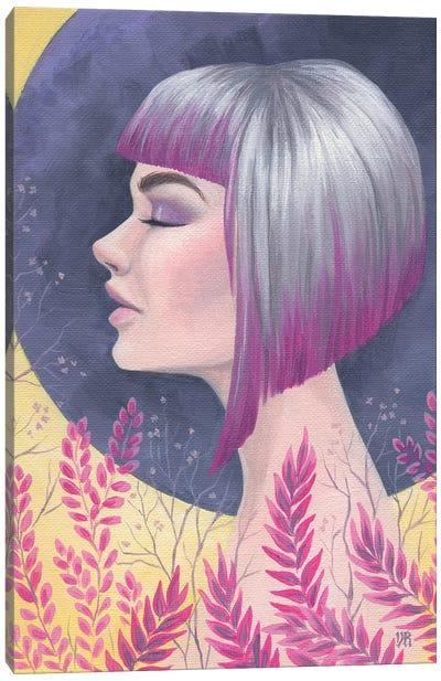 Fuchsia Daydream Canvas Art Print