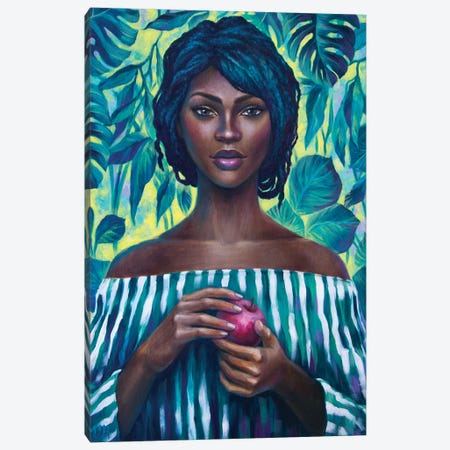 Lush Canvas Print #VRK26} by Vasilisa Romanenko Canvas Art Print