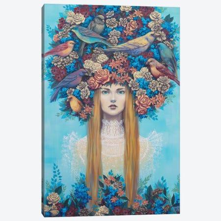Roost Canvas Print #VRK33} by Vasilisa Romanenko Canvas Art Print