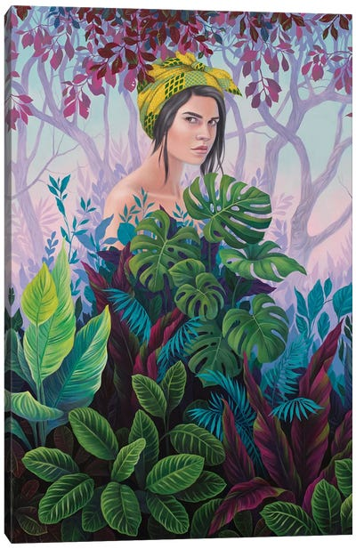 Seclusion Canvas Art Print