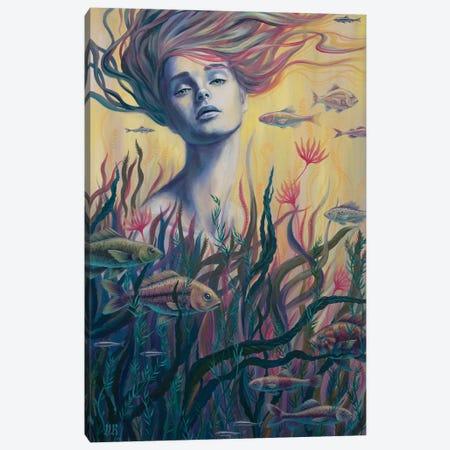 Submerged Canvas Print #VRK36} by Vasilisa Romanenko Canvas Wall Art