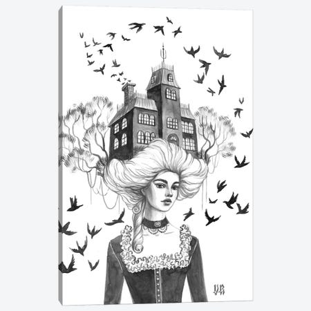 Swifts Canvas Print #VRK37} by Vasilisa Romanenko Canvas Artwork