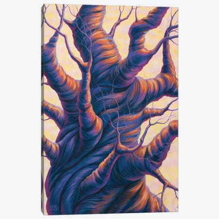 Twisted Canvas Print #VRK39} by Vasilisa Romanenko Canvas Art Print