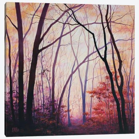 Amber Grove Canvas Print #VRK3} by Vasilisa Romanenko Art Print