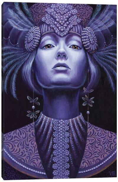 Violet Queen Canvas Art Print