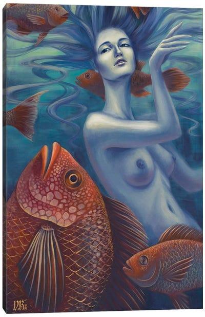Aquatic Canvas Art Print