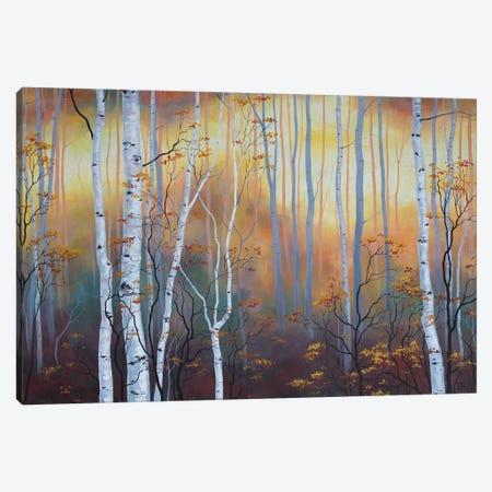 Autumn Glow Canvas Print #VRK9} by Vasilisa Romanenko Canvas Art Print