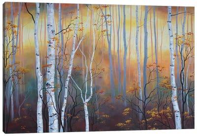 Autumn Glow Canvas Art Print