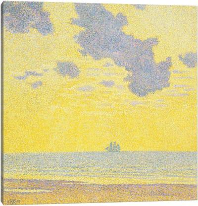 Big Clouds Canvas Art Print
