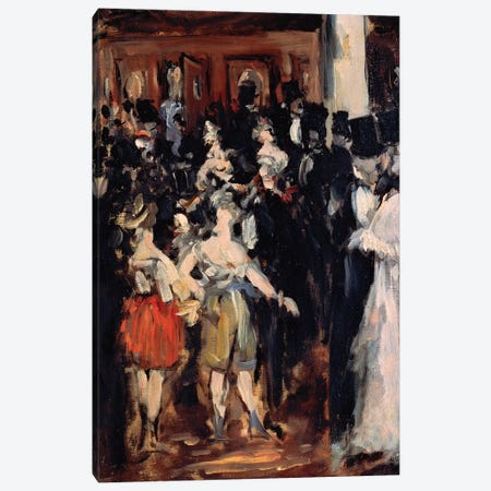 Masked Ball at the Opera, 1873 Canvas Print #VRM8} by Edouard Manet Canvas Art Print