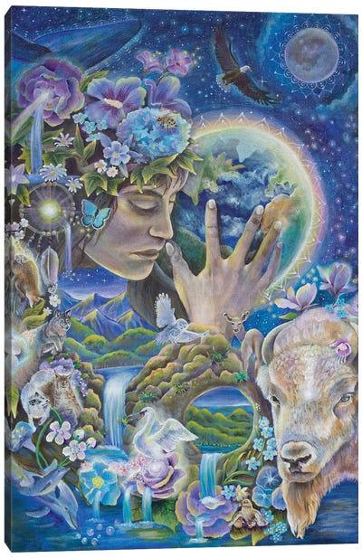 Deep Listening Canvas Art Print