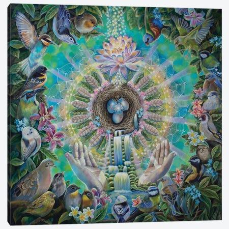 Divine Sanctuary Canvas Print #VRW16} by Verena Wild Canvas Art