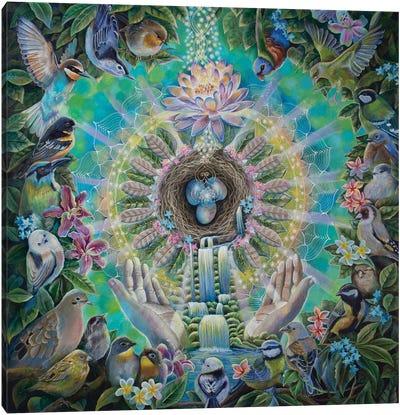 Divine Sanctuary Canvas Art Print