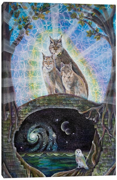 Gatekeepers Of The Mystery Canvas Art Print