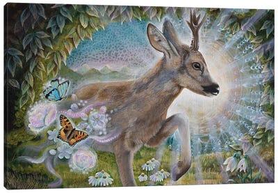 Messenger Of Spring Canvas Art Print