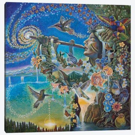 Nature's Music Canvas Print #VRW28} by Verena Wild Canvas Artwork