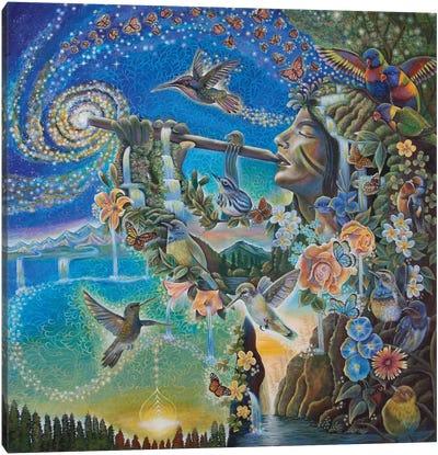 Nature's Music Canvas Art Print