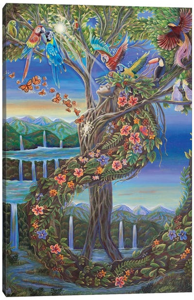Pulse Of Life Canvas Art Print