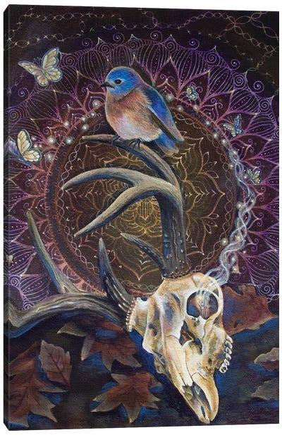 Sacred Cycle Canvas Art Print