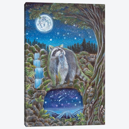 The Invitation Canvas Print #VRW39} by Verena Wild Canvas Print