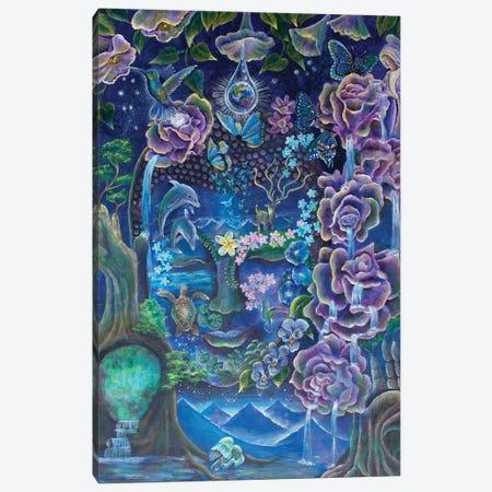 The Mind's Garden Canvas Print #VRW40} by Verena Wild Canvas Art