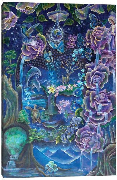The Mind's Garden Canvas Art Print