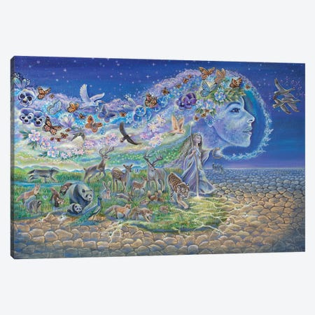 Trail Of Restoration Canvas Print #VRW42} by Verena Wild Canvas Wall Art