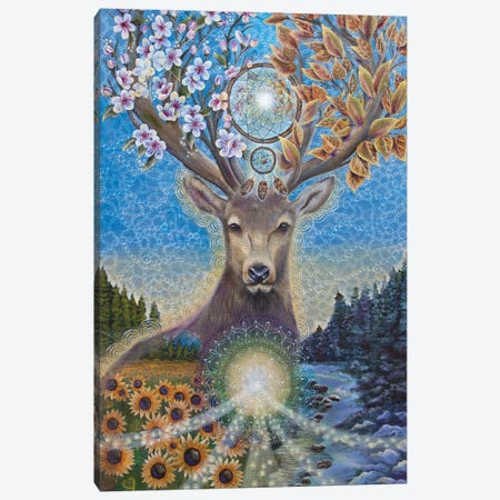 Transitions Canvas Print #VRW43} by Verena Wild Canvas Art