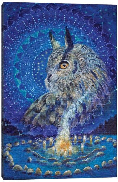 Wisdom Keeper Canvas Art Print