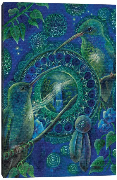 Whisper Of The Heart Canvas Art Print