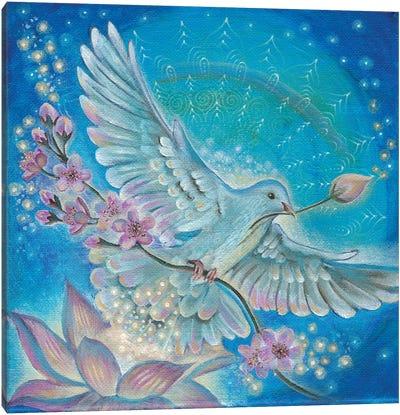 Messenger Of Peace Canvas Art Print