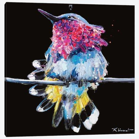 Plume Canvas Print #VRX11} by Vincent Richeux Canvas Artwork