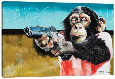 Savage World Canvas Art Print